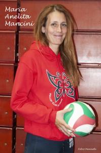 Maria Anelita Mancini allenatore di Scuola di Pallavolo, S3, under 12 e assistant coach