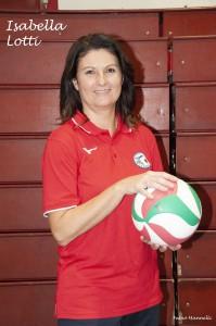 Isabella Lotti responsabile C.A.S. allenatore Scuola di Pallavolo, S3 e coach under 13